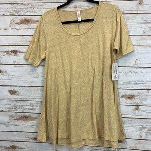 LuLaRoe Perfect T Small Gold/Yellow/Mustard NWT